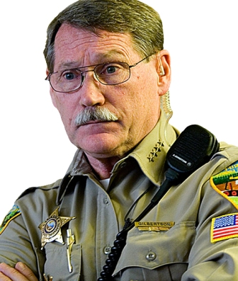 Oregon Sheriff Gil Gilbertson