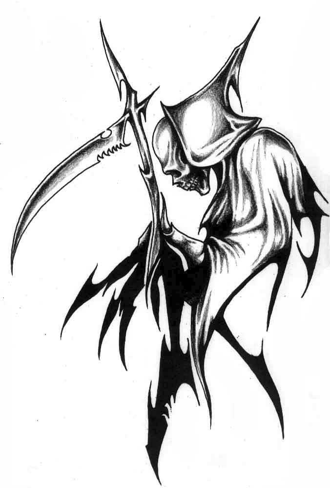 tribal-grim-reaper