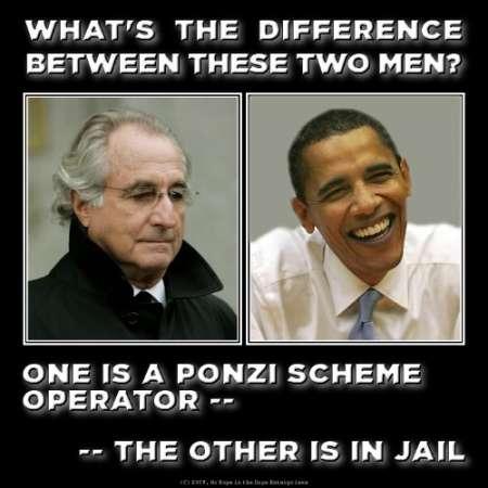 Bernie Madoff & Barry Soetoro