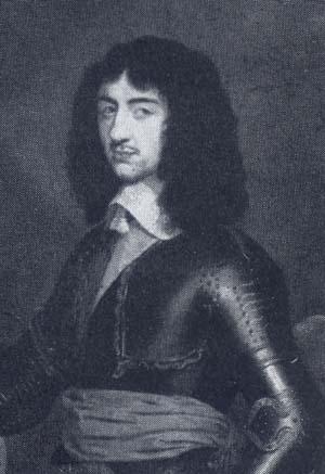 King Charles II Son Of King Charles 1st.