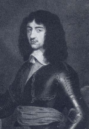 King Charles II Son Of King Charles 1st.