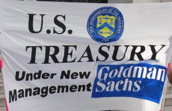 goldman sachs treasury