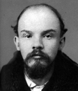 "Rothschild Financed Lenin To Over Throw The Russian Monarchy Of 1917. This is an 1895 Mugshot of the zionist ""Little Shit"""