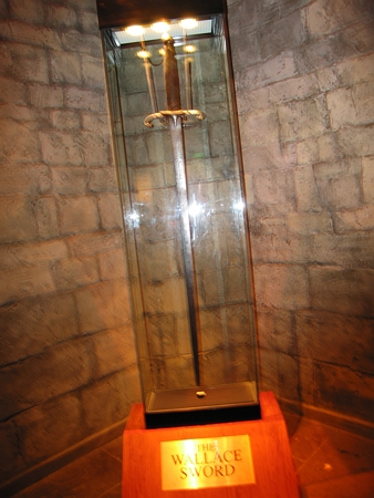William Wallace's Sword 1305 A.D.