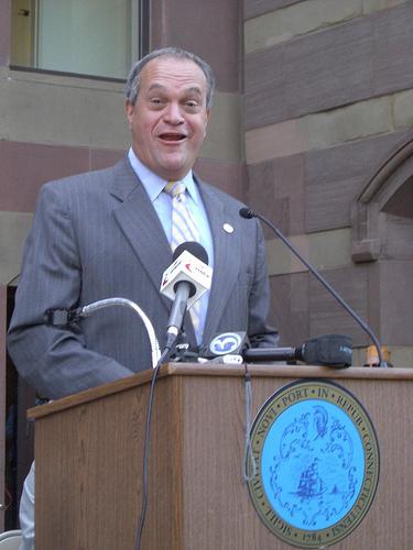 New Haven Mayor John DeStefano