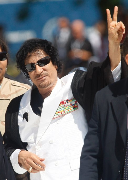 Gaddafi stopped using the corrupt Kissinger U.S. petrodollar and was employing the gold standard.  So Rothschild had him murdered through a CIA covert coup like in Ukraine, Syria, Iraq, Georgia, Kosovo. Rothschild family are the creators of mafia.