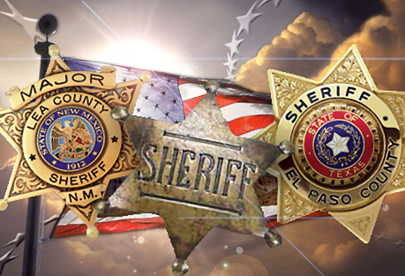 I have reported earlier that sheriffs in New Mexico are threatening to arrest federal agents if they attempt to enforce unconstitutional federal acts in contravention of state law. Sheriff-badge4