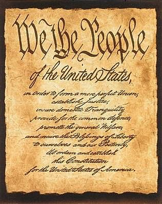 United States Republic Constitution By We The People!