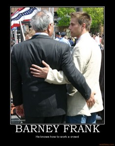 Barney Frank and Herb Moses Of Fannie Mae. Congressman sleeping with an Executive Of Fannie Mae ~ How Convoluted, How It Smells Of 'Conflict Of Interest', How ruse!  Did you know that they were married and divorced?