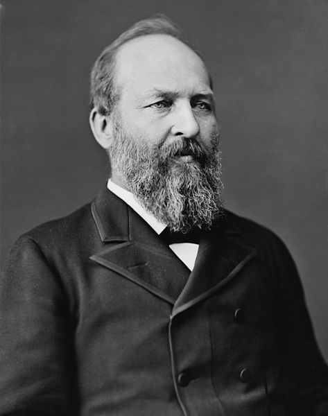 Presidente James Garfield Murdered