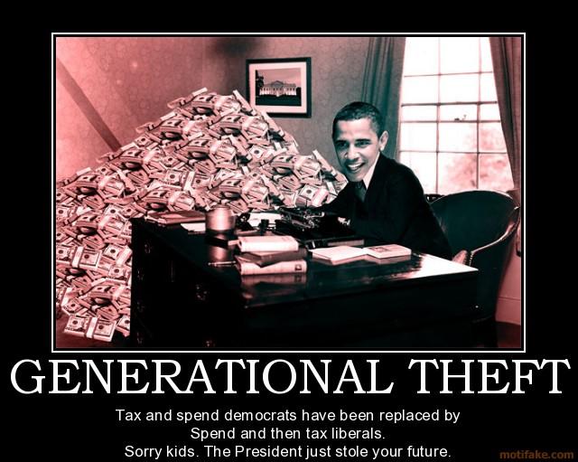 theft obama