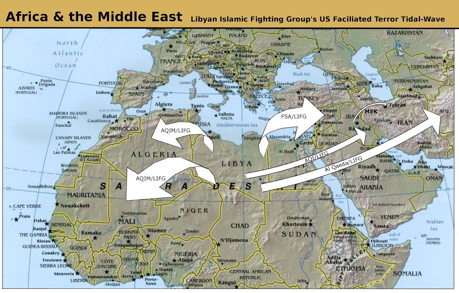 Obama Mccain Libyan Liberation Unleashes Terror Tidal Wave