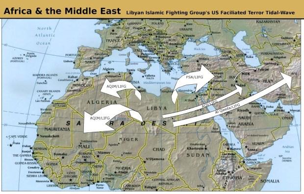 Obama/McCain Libyan 'Liberation' Unleashes Terror ''TIDAL WAVE
