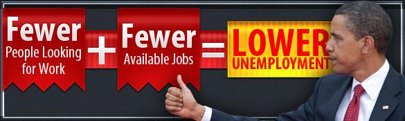 Obama Unemployment Math