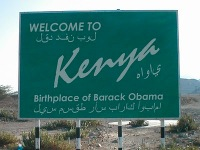 Road Sign Kenya Birth