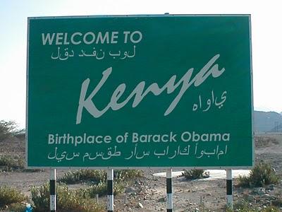 Road Sign Kenya Birth