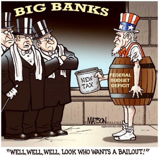 THE ILLEGAL INTERNATIONAL WALL STREET BANK BAILOUT