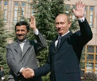 Ahmadinejad and Putin Working On Keeping The Rothschild War Machine Out Of The Middle East! Putin Has Already Kicked Rothschild Out Of Russia!