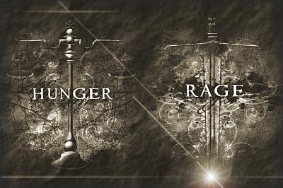 hunger rage old paper