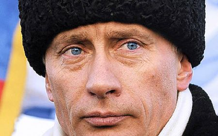 Russia Federation's President Vladimir Putin.