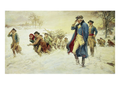 George Washington Fighting The British Banking Cabal's Military At Valley Forge!