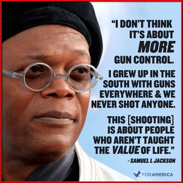 Samuel L. Jackson Guns