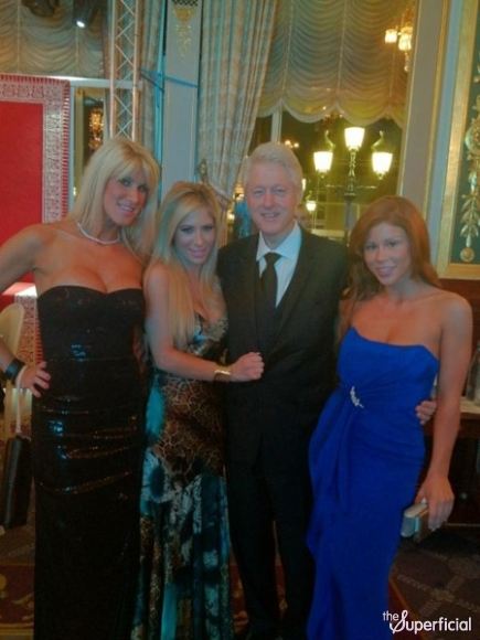 Bill Clinton Posing With Porn Stars.