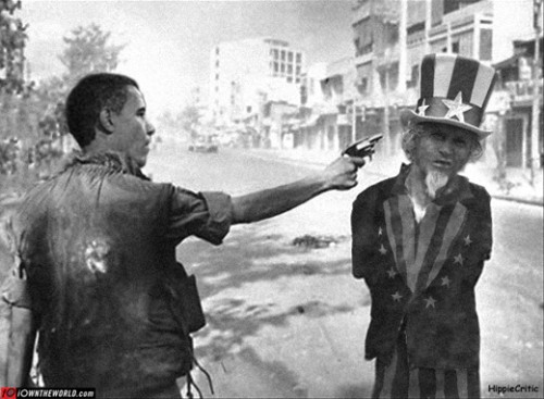 shooting uncle sam obama