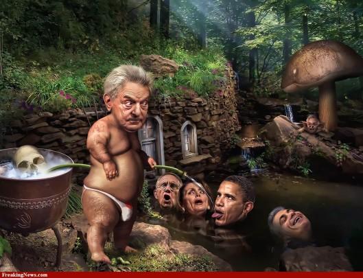 Soros in his secret garden