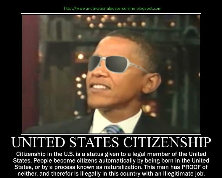 united states citizenship u.s. birth certificates barack hussein obama hawaii hi birthers of birth www.motivationalpostersonline.blogspot.com