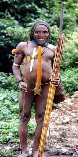 Barack Obama goes tribal naked