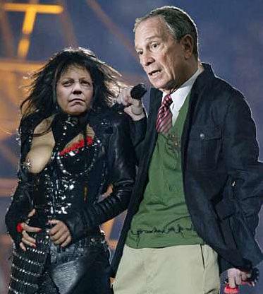 Banking Nazi's Home Security Janet Napolitano & Banking Nazi's Michael Bloomberg