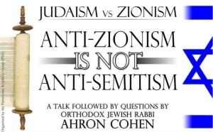 Judaism vs Zionism