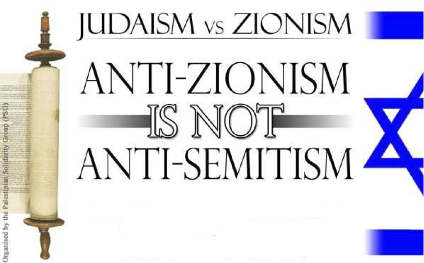 Judaism vs Zionism