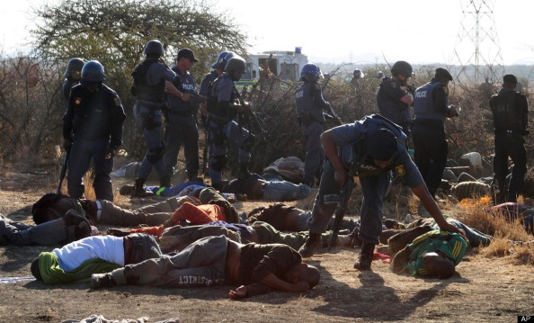 south africa mine workers