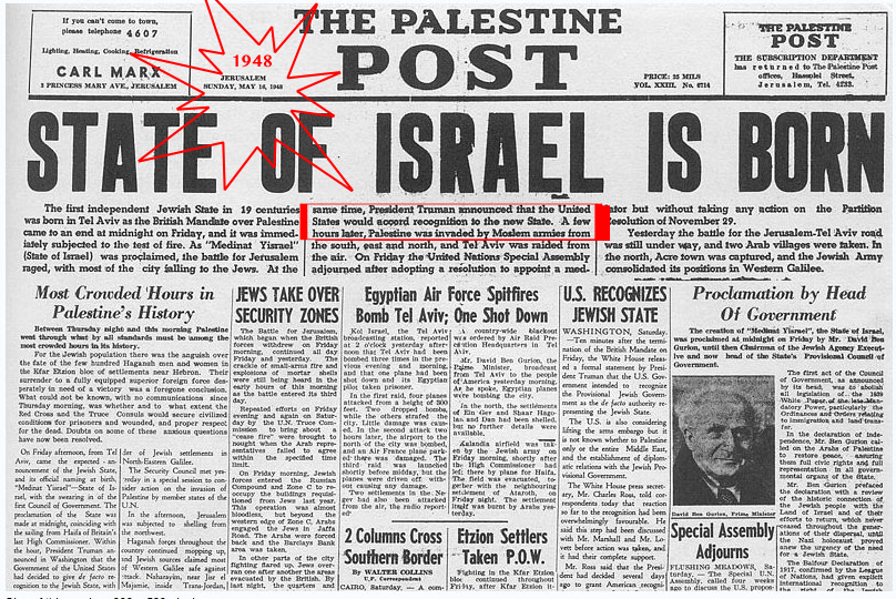 State of Israel Is Born2