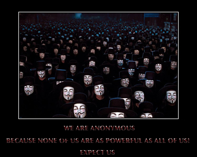 Roman Catholic ~ Guy Fawkes aka; Anonymous