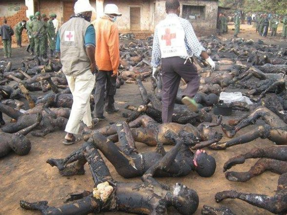 Christians Massacred & Burnt