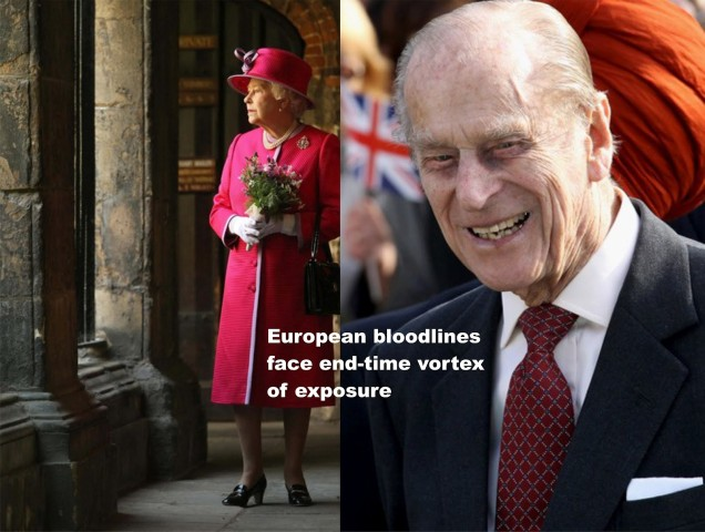 European bloodlines face end-time vortex of exposure