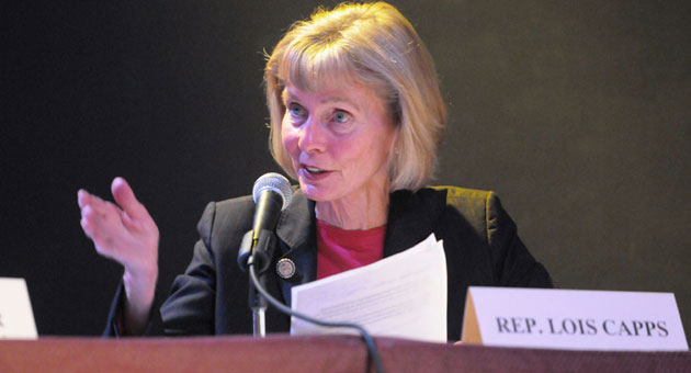 Democrat California Rep. Lois Capps