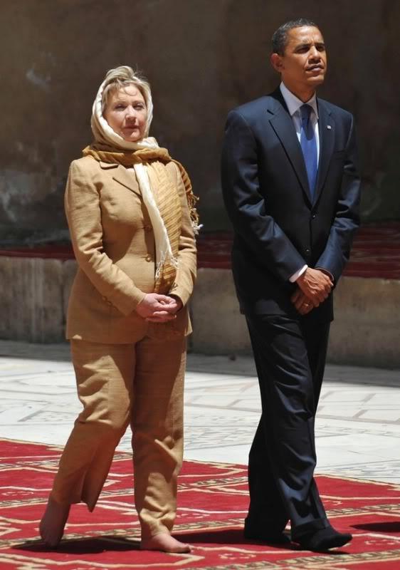 Hillary Clinton & Barry Soetoro