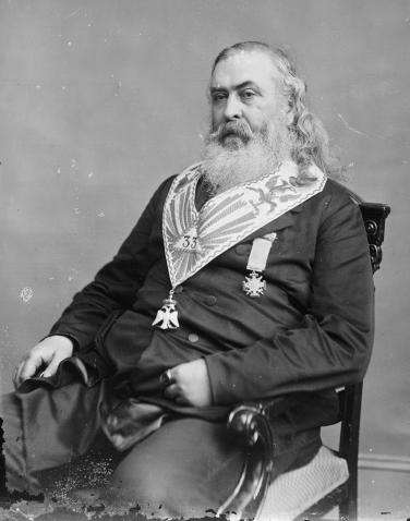 Freemason Satanist Albert Pike