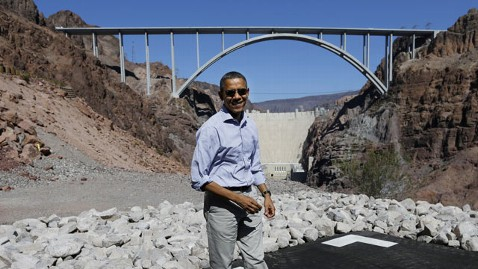 Obama At Hoover Dam October 2, 2012