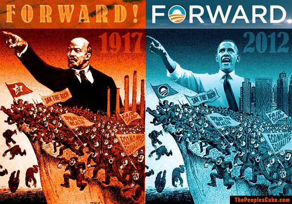 Lenin & Obama Campaign Posters