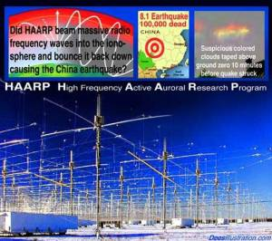 Did you know that it was the HAARP used for nefarious reasons that caused the Ionosphere to open over the south pole?