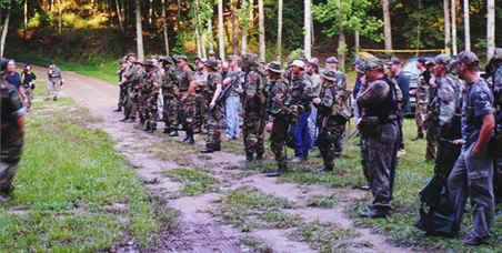 Texas Training of State Militia.
