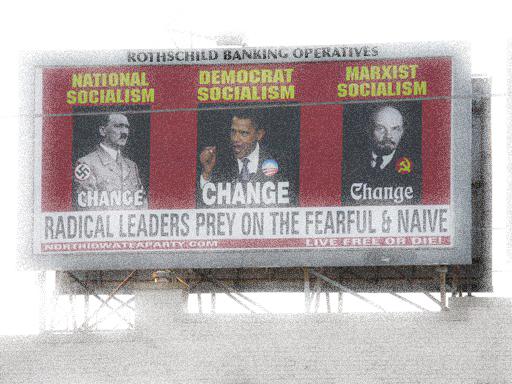 Rothschild Stooges ~ Iowa Billboard