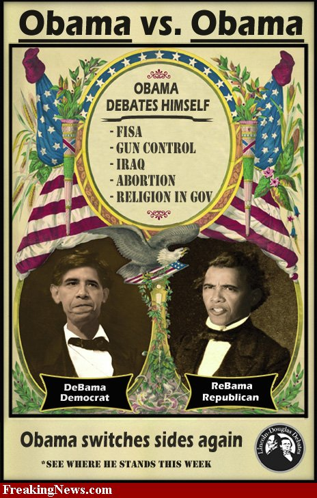 U.S. Constitution Closing In On Barack Obama: Barry Soetoro's Identity Fraud. Obama-debate-44097