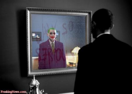 U.S. Constitution Closing In On Barack Obama: Barry Soetoro's Identity Fraud. Obama-s-mirror