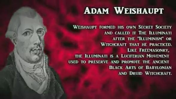 Adam Weishaupt Luciferian Illuminatit